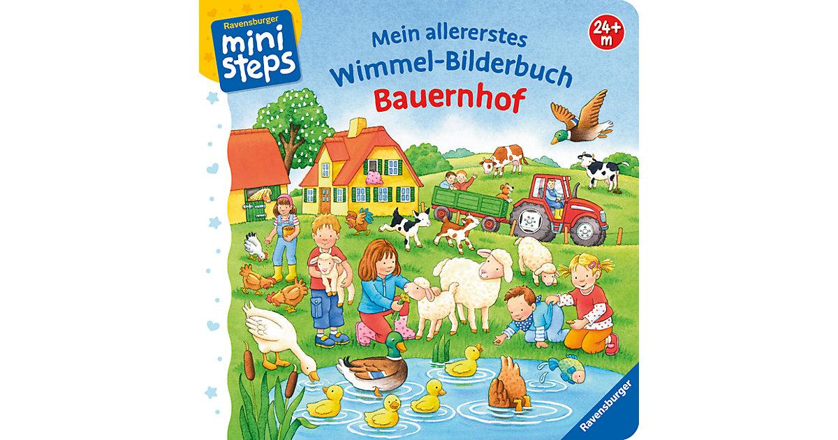 Buch - ministeps: Mein allererstes Wimmel-Bilderbuch: Bauernhof