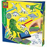 Kreativset Dino-Stempel