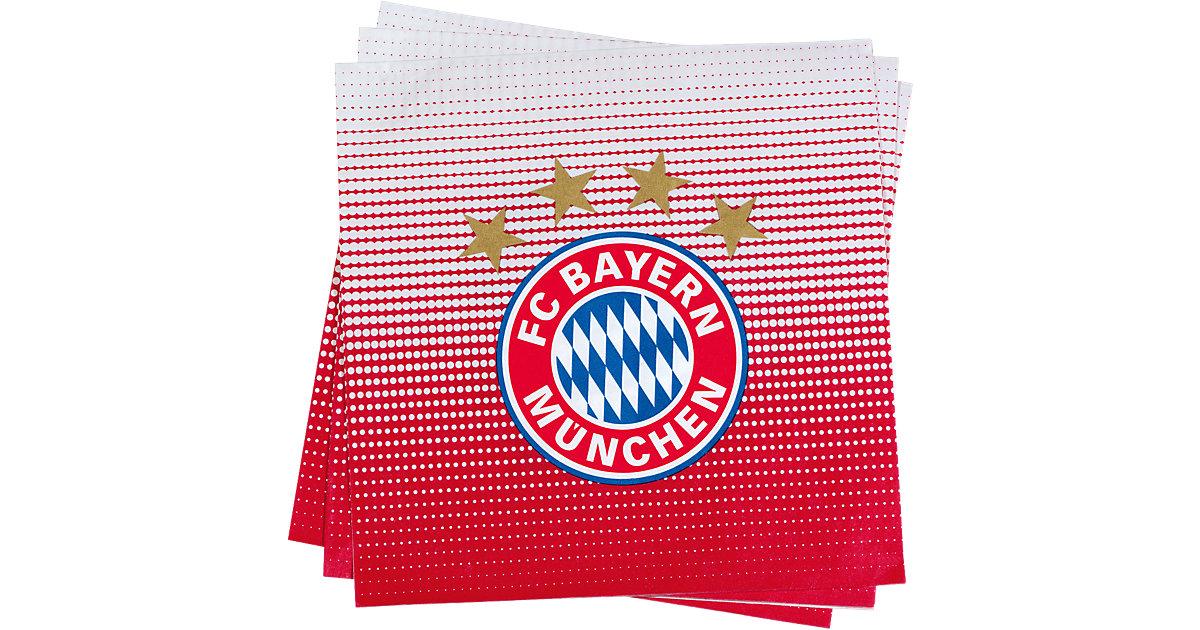 Servietten FC Bayern München rot
