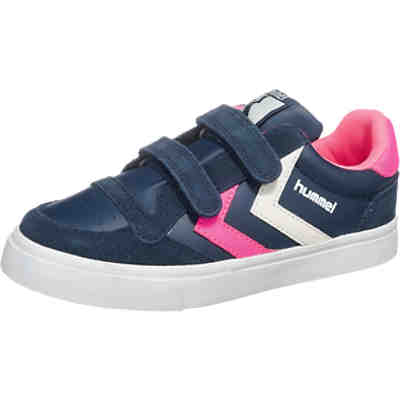 hummel STADIL LEATHER LO Kinder Sneakers