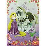 """Ковер """"Рапунцель и конь Максимус"""" 80*133 см, Принцессы Дисней"""