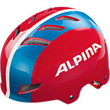 Fahrradhelm Alpina Park Jr. 51-55, red-blue-white