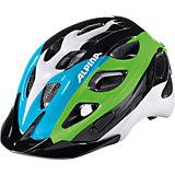 Fahrradhelm Rocky black-blue-green 52-57