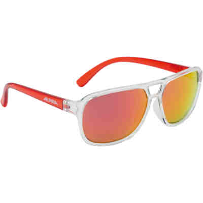 Sonnenbrille Yalla clear-red