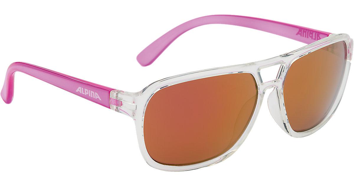 Sonnenbrille Yalla clear-pink Mädchen Kinder