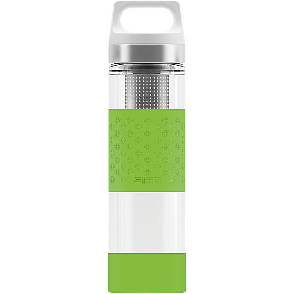 SIGG Trinkflasche Hot & Cold Glass WMB Green, 0,4 l