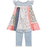 Baby Set Kleid und Leggings für Mädchen