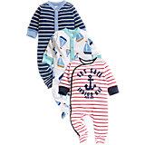 Baby Schlafstrampler 3er-Pack für Jungen