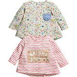 Baby Langarmshirt Doppelpack für Mädchen