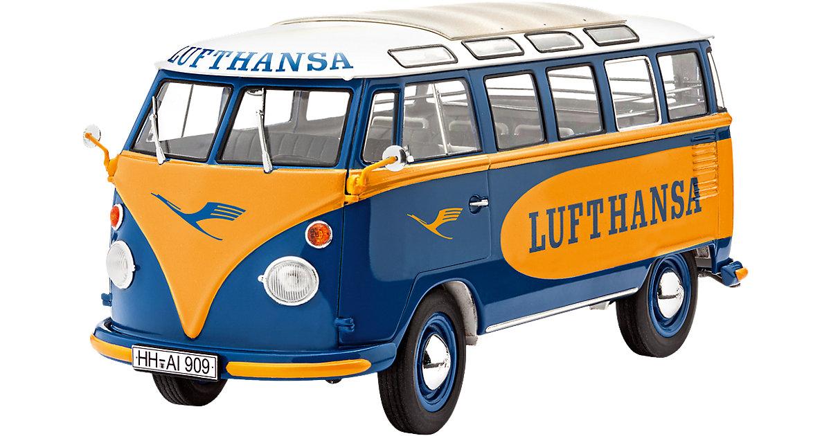 Modelbausatz VW T1 Samba Bus ´´Lufthansa´´