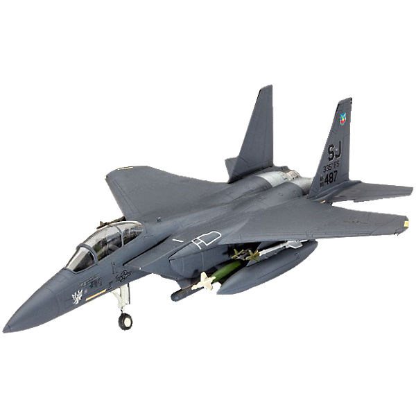 Revell Modelbausatz Model Set F-15E STRIKE EAGLE & b