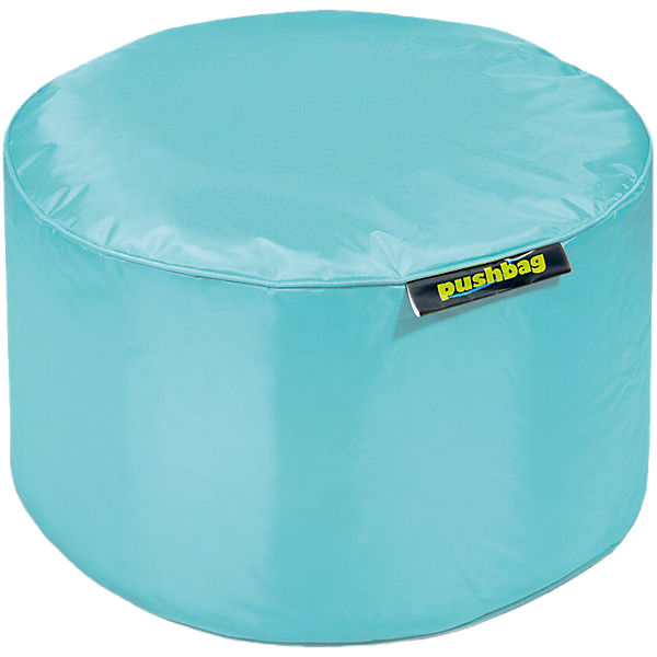 Sitzsack Drum, Oxford, aqua