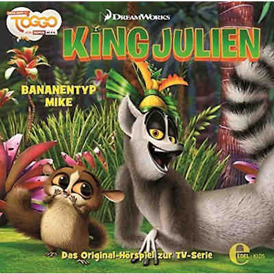 CD King Julien 02 - Banantyp Mike
