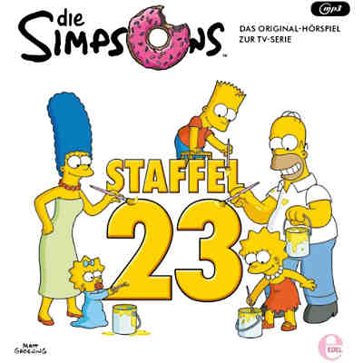 CD Die Simpsons - Die Komplette Staffel 23
