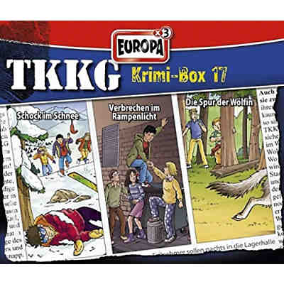 CD TKKG - Krimi Box 17