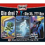 CD Die Drei ??? 35 - 3er Box,  Folgen 104-106