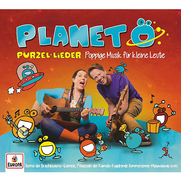 CD Planet Ö - Purzellieder