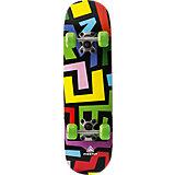 Skateboard Abstract, grün