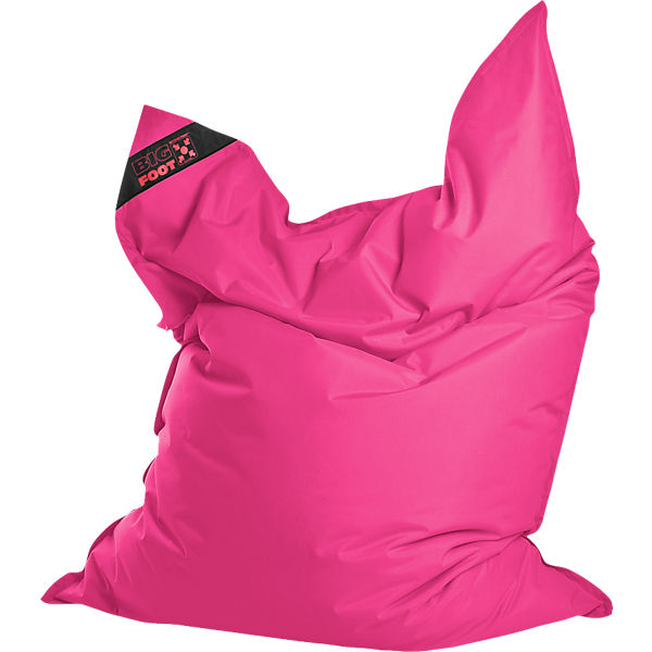 Sitzsack BIGFOOT SCUBA, 130 x 170 cm, pink