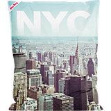 Sitzsack BigBag, 130  x 170 cm, NYC bunt