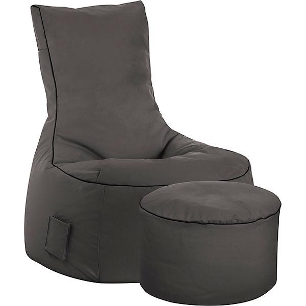 sitzsack swing scuba anthrazit sitting point mytoys. Black Bedroom Furniture Sets. Home Design Ideas