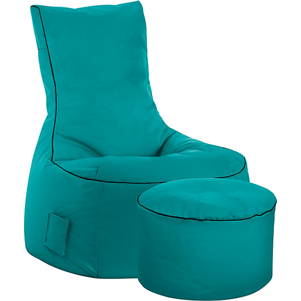 sitzsack swing scuba petrol sitting point mytoys. Black Bedroom Furniture Sets. Home Design Ideas