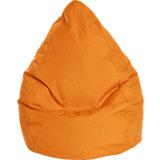 Sitzsack BeanBag BRAVA XXL, 80 x 130 cm, orange