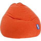 Sitzsack BeanBag EASY XXL, 70 x 130 cm, orange