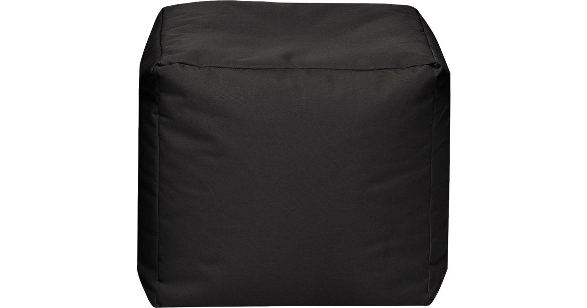 Sitzhocker CUBE SCUBA, 40 x 40 cm, schwarz