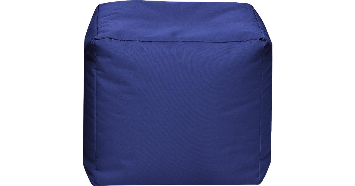 Sitzhocker CUBE SCUBA, 40 x 40 cm, dunkelblau
