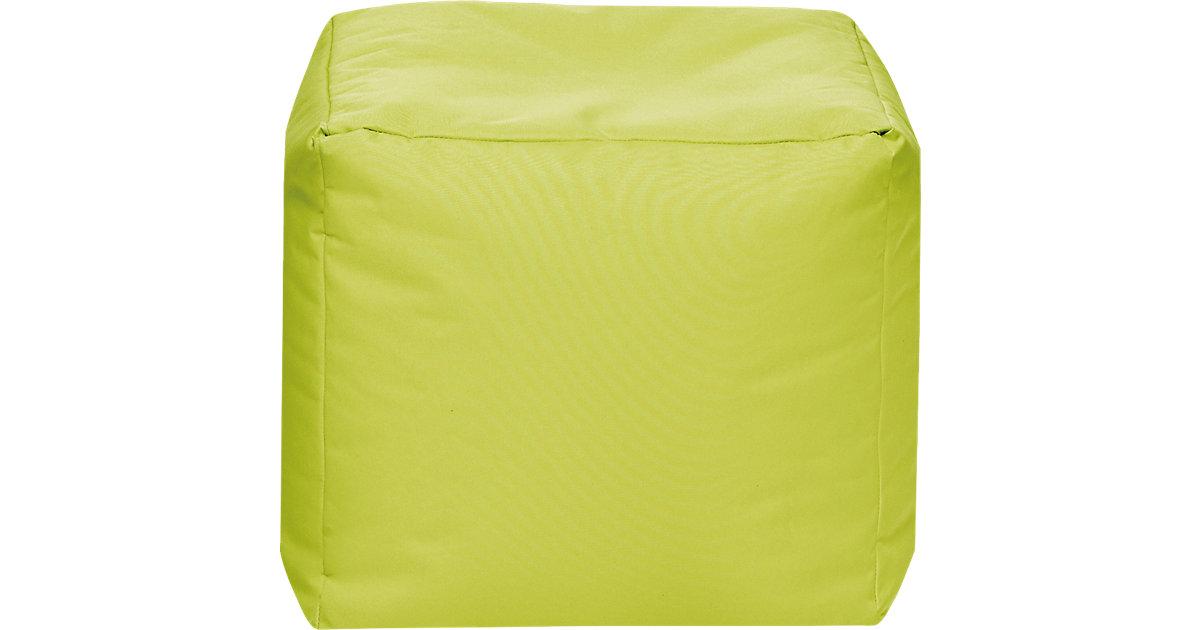 Sitzhocker CUBE SCUBA, 40 x 40 cm, grün