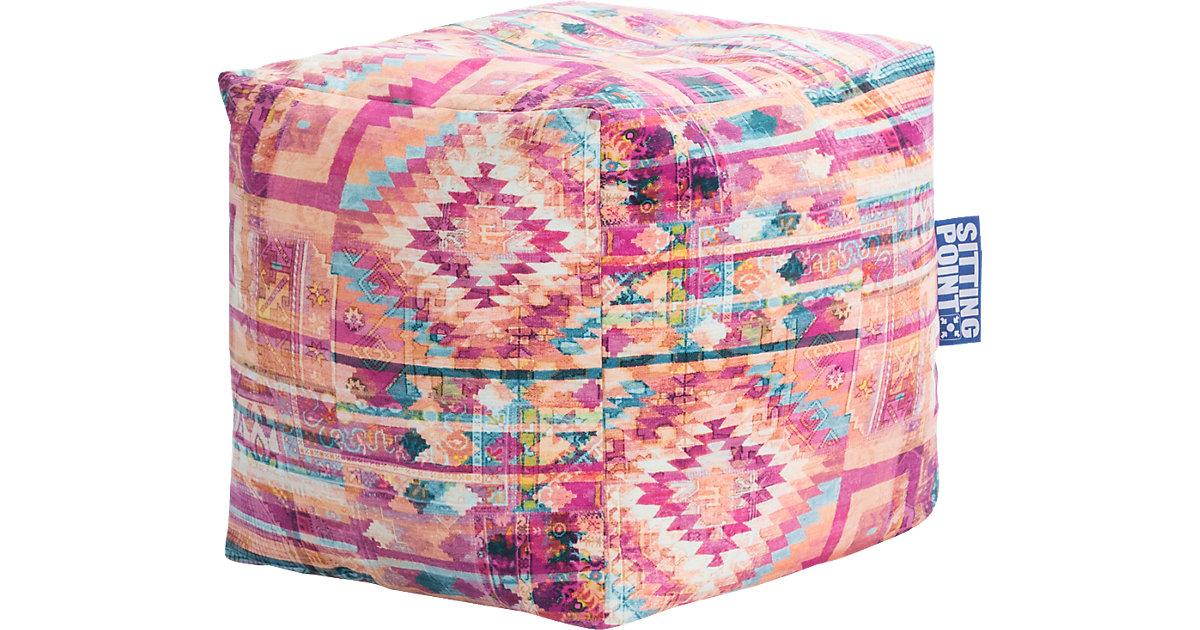 Sitzhocker Cube BURSA mehrfarbig