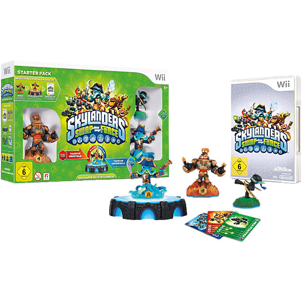 Wii Skylanders Swap Force Starter Pack