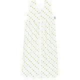 Sommer- Schlafsack Anni, Jersey, Sterne weiß-limone