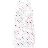 Sommer- Schlafsack Anni, Jersey, Sterne weiß-pink