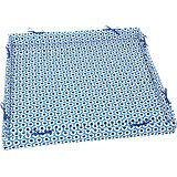 Laufgittereinlage Sterne blue,  75 x 100 und 100 x 100 cm