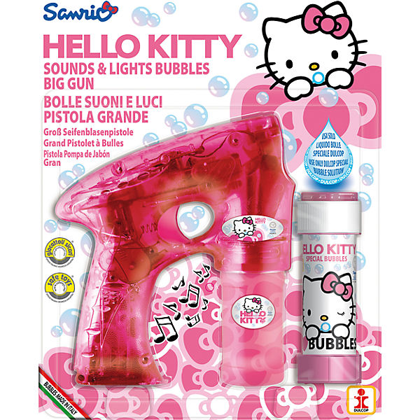Seifenblasen-Pistole Hello Kitty