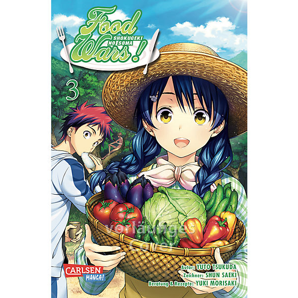 Food Wars, Band 3