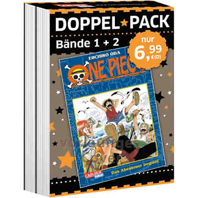 One Piece Doppelpack, Band 1 + 2