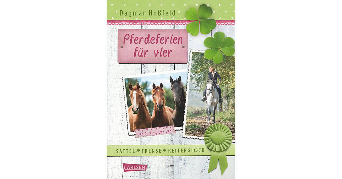 Buch - Sattel, Trense, Reiterglück: Pferdeferien vier Kinder