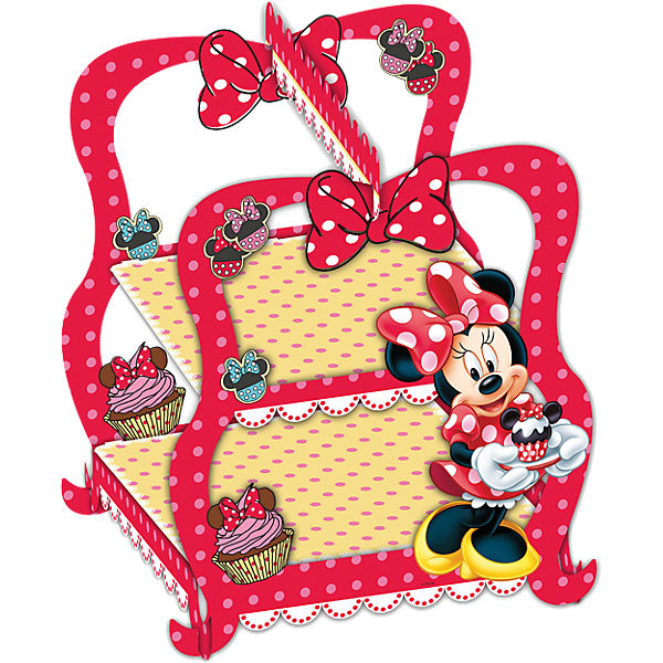 Cupcake Etagere Minnie Mouse