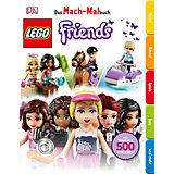 Das Mach-Malbuch: LEGO Friends