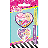 Канцелярский набор (точилка, ластик), Barbie