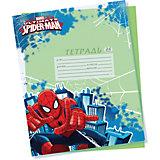 Обложки для тетрадей 5 шт, Человек-Паук