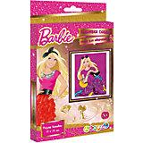 Вышивка гладью, Barbie