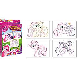 Раскраска с объемным контуром, My Little Pony
