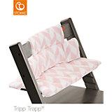 Tripp Trapp® Sitzkissen, Pink Chevron, beschichtet