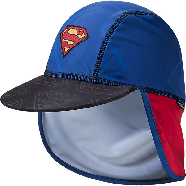 baby sonnenhut superman mit uv schutz superman mytoys. Black Bedroom Furniture Sets. Home Design Ideas