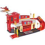 Пожарный гараж с вертолетом, Пожарный Сэм, Dickie
