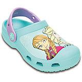 Сабо Girls' Creative Crocs Frozen Clog для девочки Crocs